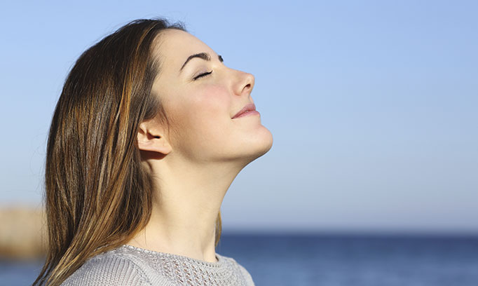 deep breathing relaxation