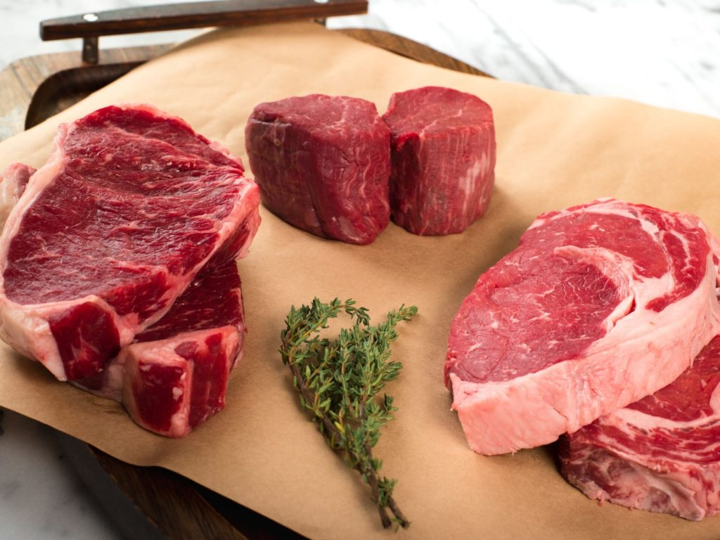 grass fed beef meat healthy